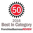 2016 Best in Category Franchise Business Review Logo